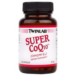 Коэнзим Twinlab Super CoQ10 60 капсул