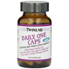 Витаминно-минеральный комплекс Twinlab Daily One Caps with Iron 60 капсул