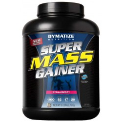 Гейнер Dymatize Nutrition Super Mass Gainer 2700 г Strawberry