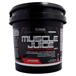 Гейнер Ultimate Nutrition Muscle Juice Revolution 5000 г Strawberry