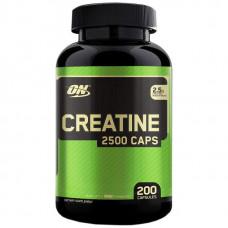 Optimum Nutrition Creatine Monohydrate 2500 200 капсул без вкуса