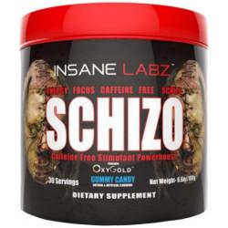 Предтренировочный комплекс Insane Labz Schizo Caffeine Free 199 г конфеты