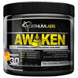 Предтренировочный комплекс Platinum Labs Awaken 200 г конфеты