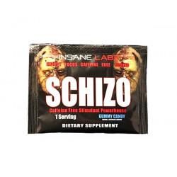 Предтренировочный комплекс Insane Labz Schizo Caffeine Free 6 г конфеты