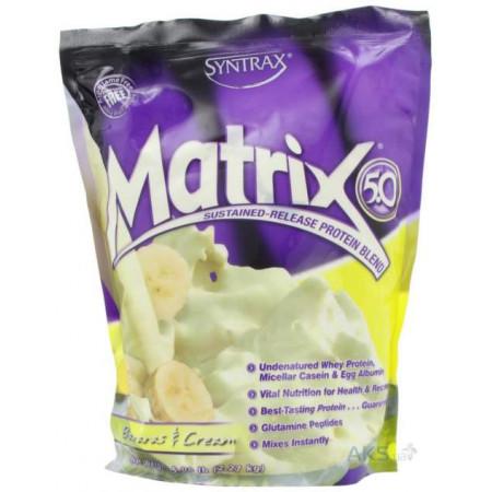 Протеин Syntrax Matrix 5.0 2270 г Bananas and Cream