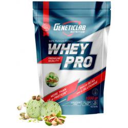 Протеин GeneticLab Nutrition Whey Pro 1000 г Pistachio Ice-Cream