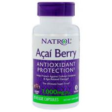 Антиоксидант Natrol AcaiBerry 60 75 капс.