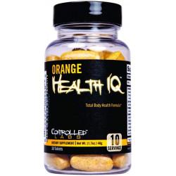 Многокомпонентный препарат Controlled Labs Health Iq 30 табл. апельсиновый