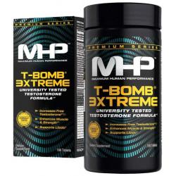Многокомпонентный препарат, бустер тестостерона MHP T-Bomb 3Xtreme 168 табл.