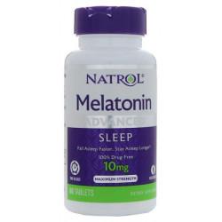 Добавка для сна Natrol Melatonin Advanced Sleep 60 табл.