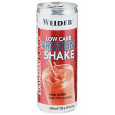 Энергетический напиток Weider Low Carb Protein Shake 250 мл клубника