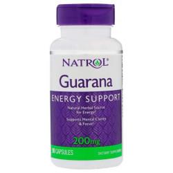 Энергетический напиток Natrol Guarana 90 капс. гуарана