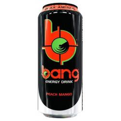 Энергетический напиток VPX Bang 473 мл персик-манго