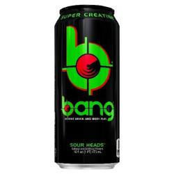 Энергетический напиток VPX Bang 473 мл зеленое яблоко
