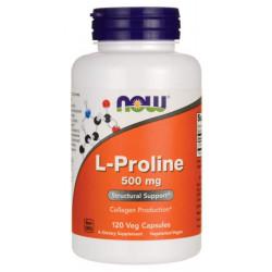 Комплексное средство для суставов и связок NOW L-Proline 120 капс.