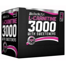 BioTech L-Carnitine 3000, 20 ампул по 25 мл, Lemon