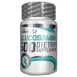 Комплексное средство для суставов и связок BioTech Glycosamine 500 60 капс.