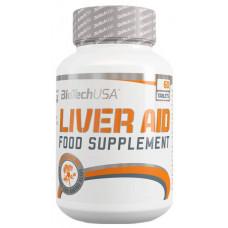 Добавка для печени BioTech Liver Aid 60 табл. нейтральный