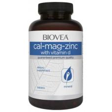Витаминный комплекс BIOVEA Calcium Magnesium Zinc 90 таблеток