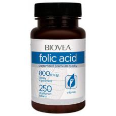 Витаминный комплекс BIOVEA Folic Acid 800 250 таблеток