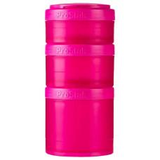 Таблетница Blender Bottle Expansion Pak Full Color 3 кам. 250 мл малиновый