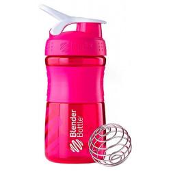 Шейкер Blender Bottle SportMixer 1 кам. 591 мл малиновый