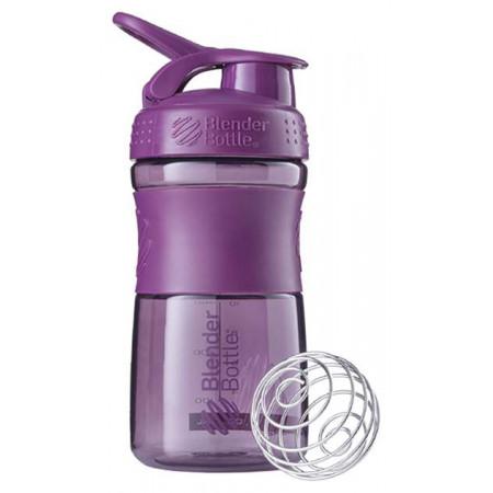 Шейкер Blender Bottle SportMixer 1 кам. 591 мл сливовый