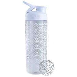 Шейкер, бутылка Blender Bottle SportMixer Sleek 1 кам. 828 мл белый