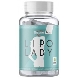 Жиросжигатель GeneticLab Nutrition Lipo Lady, 120 капсул