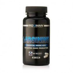 Ironman L-Arginine 60 капсул без вкуса