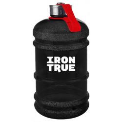 Бутылка IronTrue 1 кам. 2200 мл черный, красный