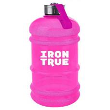 Бутылка IronTrue 1 кам. 2200 мл розовый