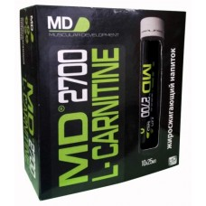 MD L-Carnitine 2700, 10 ампул по 25 мл, Unflavoured