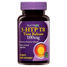 Natrol 5-HTP Time Release 45 таблеток без вкуса