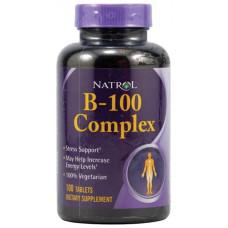 Витаминный комплекс Natrol Vitamin B-100 Complex 100 таблеток