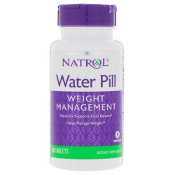 Добавка для пищеварения Natrol Water Pill 60 табл. нейтральный