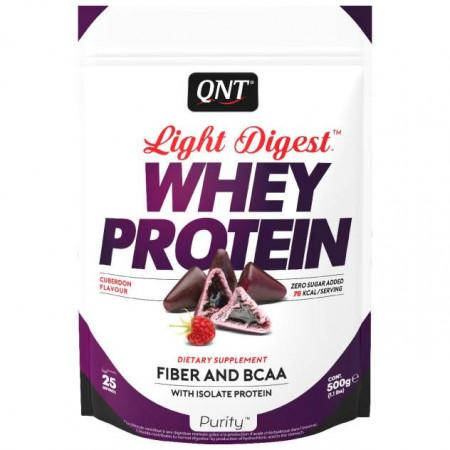 Протеин QNT Whey Protein Light Digest 500 г Cuberdon