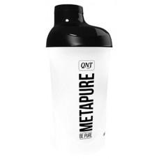 Шейкер QNT Metapure Shaker 1 кам. 600 мл черный, белый