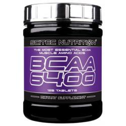 Scitec Nutrition BCAA 6400 125 таблеток без вкуса