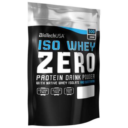 Протеин BioTech Iso Whey Zero 500 г Vanilla