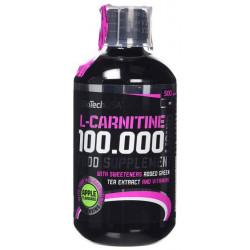 BioTech L-Carnitine + Chrome, 500 мл, Apple-Pear