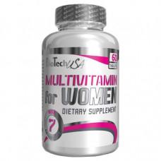 Витаминный комплекс BioTech Multivitamin for women 60 таблеток