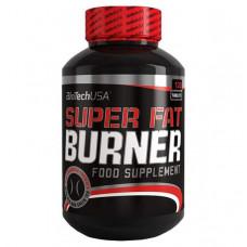 Жиросжигатель BioTech Super Fat Burner, 120 капсул