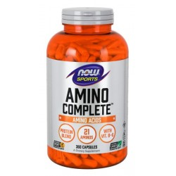 NOW Sports Amino Complete 120 капсул без вкуса
