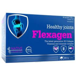 Добавка для пищеварения, добавка для здоровья Olimp Labs Flexagen 475 г малина