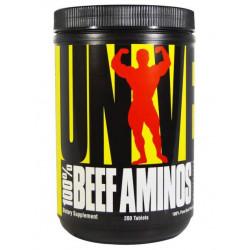 Universal Nutrition 100% Beef Aminos 200 таблеток без вкуса