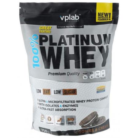 Протеин VPLab 100% Platinum Whey 750 г Cookies & Cream