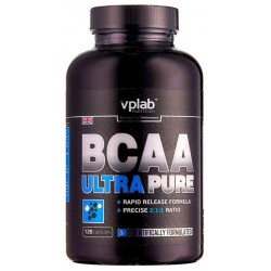 VPLab BCAA Ultra Pure 120 капсул без вкуса
