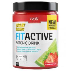Изотонический напиток VPLab FitActive 500 г клубника-лайм