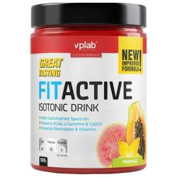 Изотонический напиток VPLab FitActive 500 г тропические фрукты